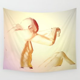Paralyzed Paradise Wall Tapestry