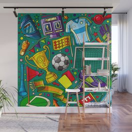 football lovers Wall Mural