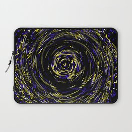 Hurricane ..Team colors blue /yellow Laptop Sleeve