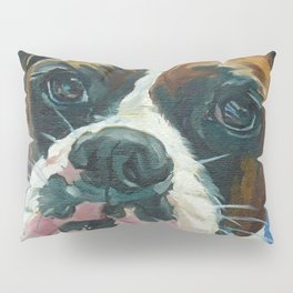 Khloe the Boxer Dog Fine Art Portrait Pillow Sham