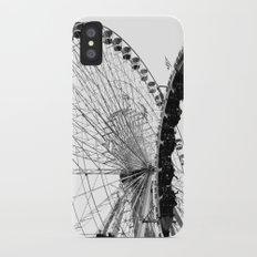 At the Fair: Round and Round iPhone X Slim Case