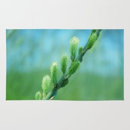 willow catkin Rug