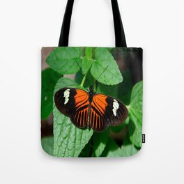 Perched Doris Longwing Butterfly Tote Bag