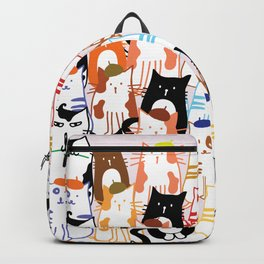 Beret Cats Backpack