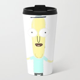 Rick and Morty Poopy Butthole OOOH WEEE Travel Mug