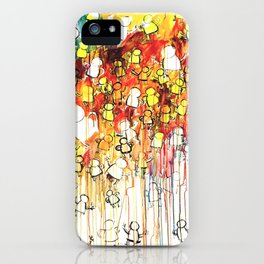Painting about feeling like a dream iPhone Case