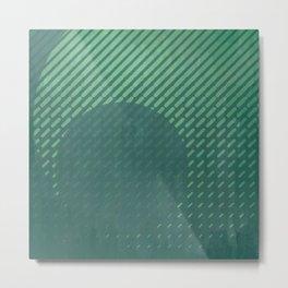 Circular Warping | Minimalist | Abstract | Modern | Shapes | Geometrix Metal Print