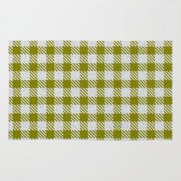 Olive Buffalo Plaid Rug