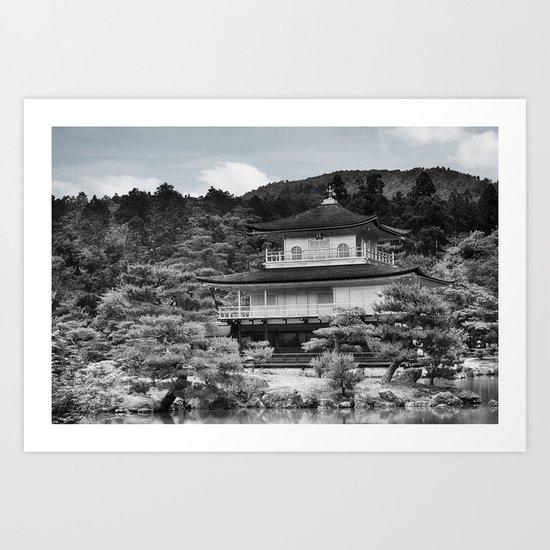 Golden Pavilion Art Print