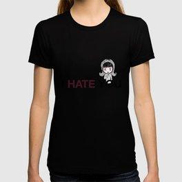 I Hate You / Mask T-shirt