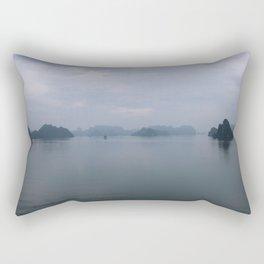 Ha Long Bay Mist Rectangular Pillow