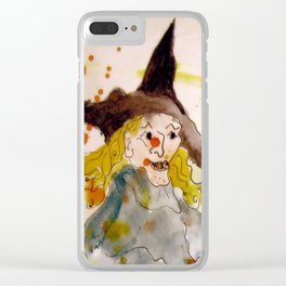 A Witch called Zee Clear iPhone Case
