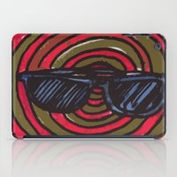 sunglasses iPad Cases featuring sunglasses by NAME THEGREY