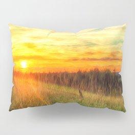 Paint Me A Sunset  Pillow Sham