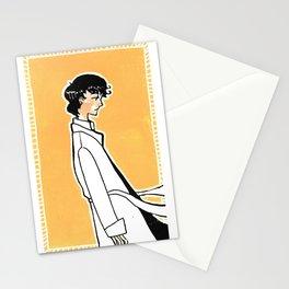 Melancholy Man Stationery Cards
