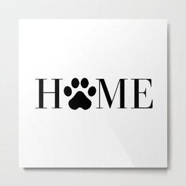 Home Metal Print