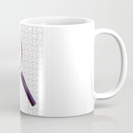 Odd Piece Magnifying Glass Coffee Mug