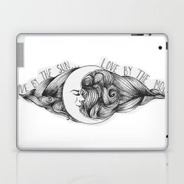 Live by the Sun, Love by the Moon Laptop & iPad Skin