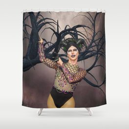 Hold on Faye Shower Curtain