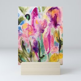 garden fantasy Mini Art Print