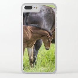 By Mother's Side Clear iPhone Case