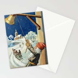 """""""Ring the Bell"""" by Jenny Nystrom Stationery Cards"""