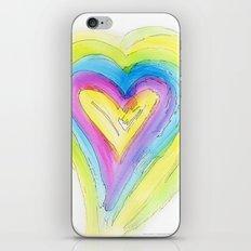 Spring Heart iPhone & iPod Skin