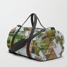 Rustic winter scene C Duffle Bag