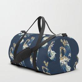 Jnana Mudra of Pug Duffle Bag