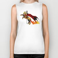smaug Biker Tanks featuring Smaug by MarieJacquelyn