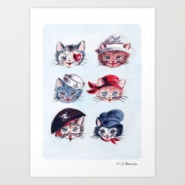 A Paw-rate's Life For Me Art Print