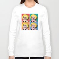 marilyn Long Sleeve T-shirts featuring Marilyn by powerpig