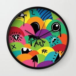 ilovehats Portrait Wall Clock