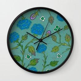Minhwa: Peony Pattern C Type Wall Clock