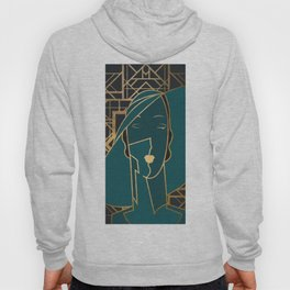 Art Deco Graphic No. 160 Hoody