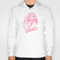 barbie Hoodies featuring Barbie by Petite Passerine