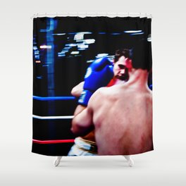 Fight : Eye of the Tiger Shower Curtain