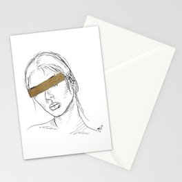 Gold Bar Stationery Cards