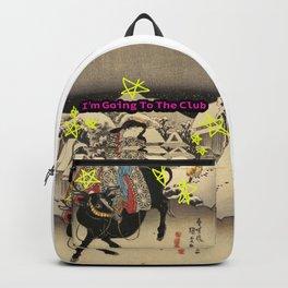 "Ukiyo-e ""I'm going to the club"" Backpack"