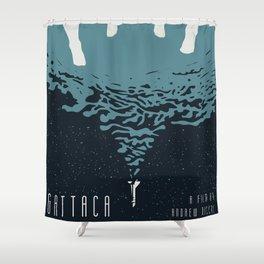 Portrait Gattaca Shower Curtain