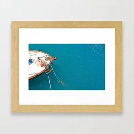 The Mediterranean Sea Framed Art Print