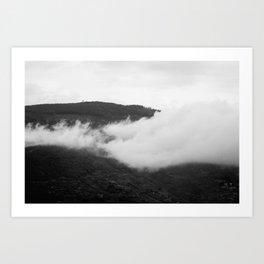 Cortona Clouds Art Print