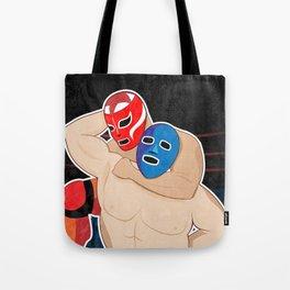 Lucha Libre Wrestling Tote Bag