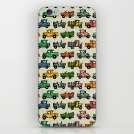 Old Timey Cars iPhone Skin