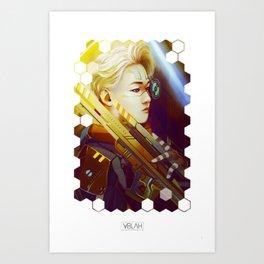 Light Future Art Print