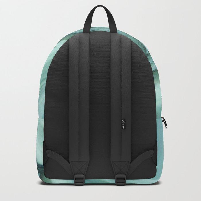 The world of gems - light blue agate Backpack