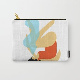 Girl Smoking Carry-All Pouch