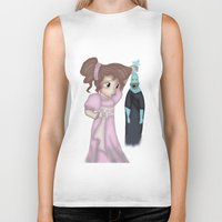 hercules Biker Tanks featuring Hercules' Meg/Megara and Hades by crazy_feline