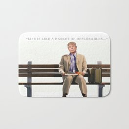 Forrest Gump Parody Of Donald Trump Bath Mat