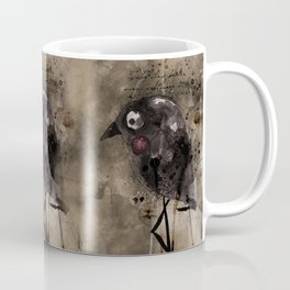 Black bird Mug
